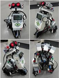 Robots Lego del Semillero de Robótica de la Fundación Universitaria Konrad Lorenz