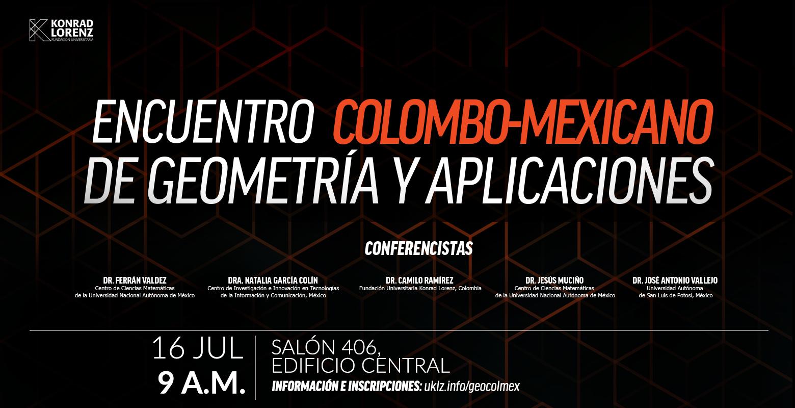 Encuentro Colombo - Mexicano de Geometría