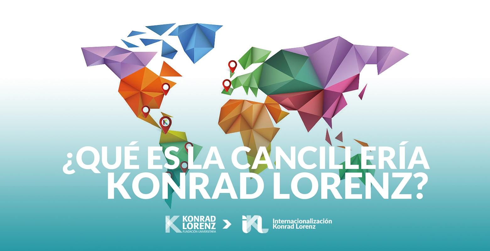 ¿Qué es la Cancillería de la Fundación Universitaria Konrad Lorenz?