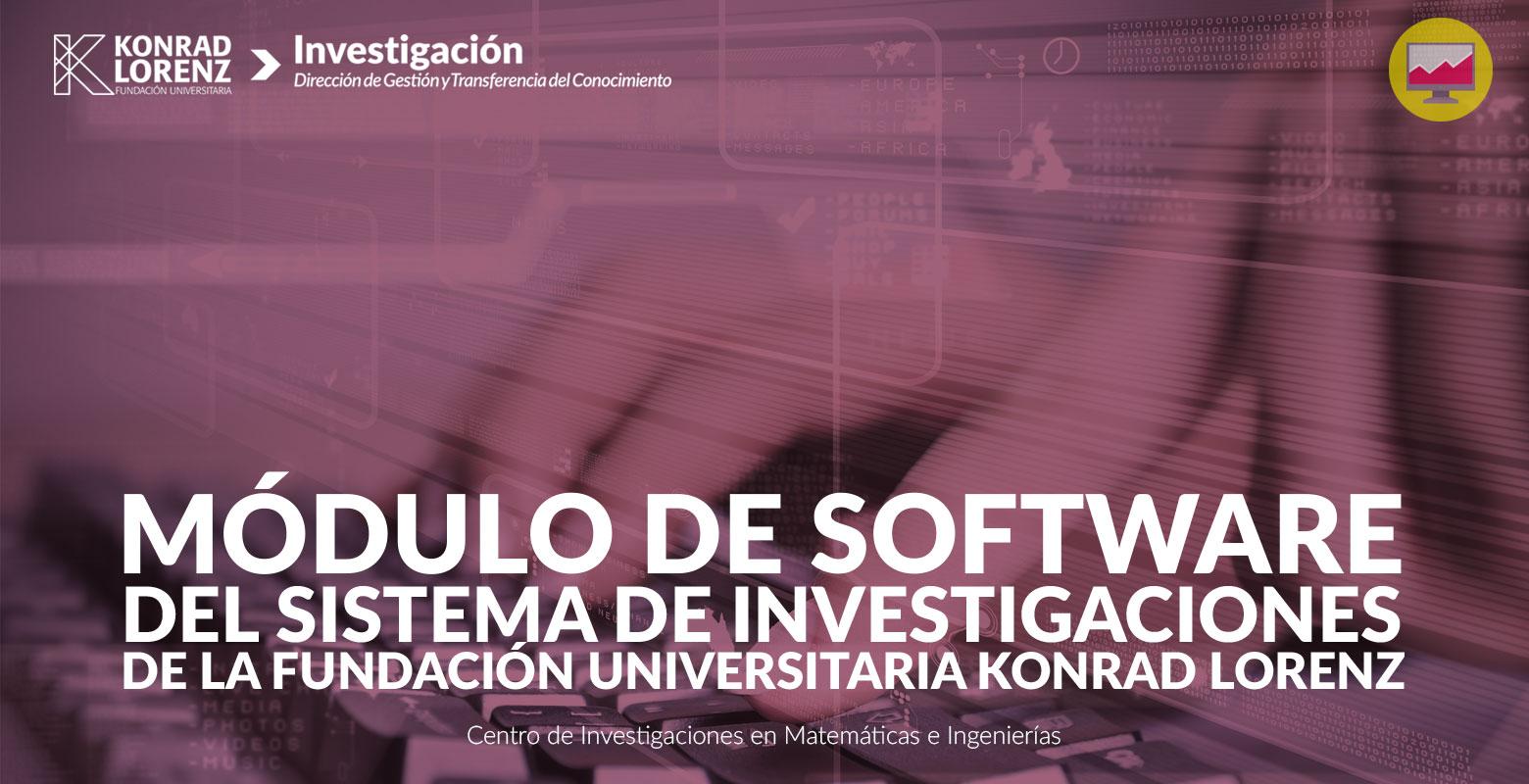 Módulo de software del sistema de investigaciones de la Konrad Lorenz