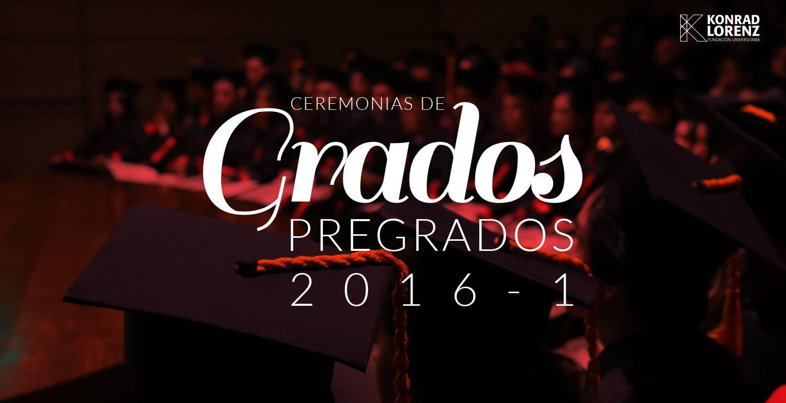 Ceremonia de graduación de la promoción 2016 - I