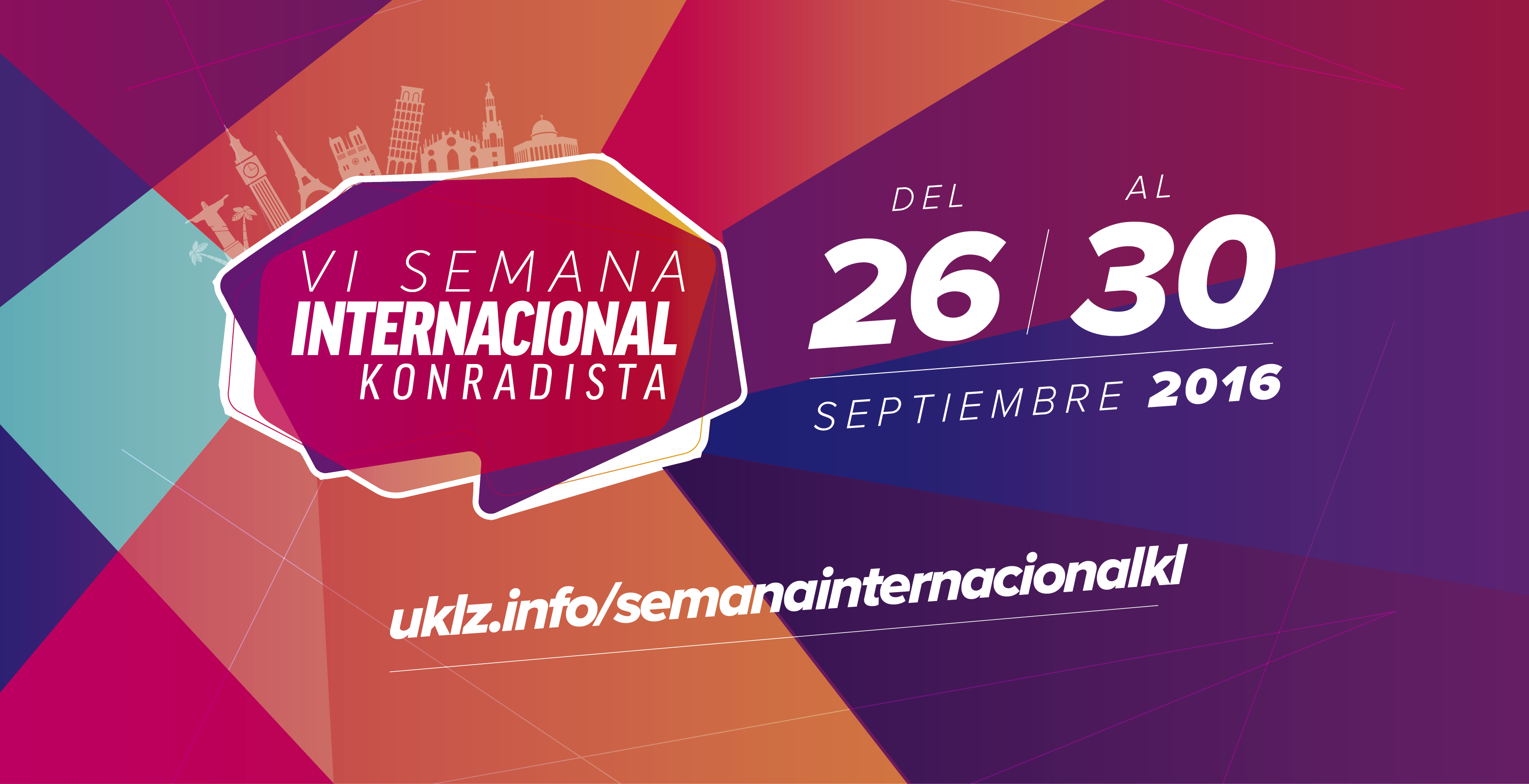 VI Semana Internacional Konradista del 26 al 30 de septiembre