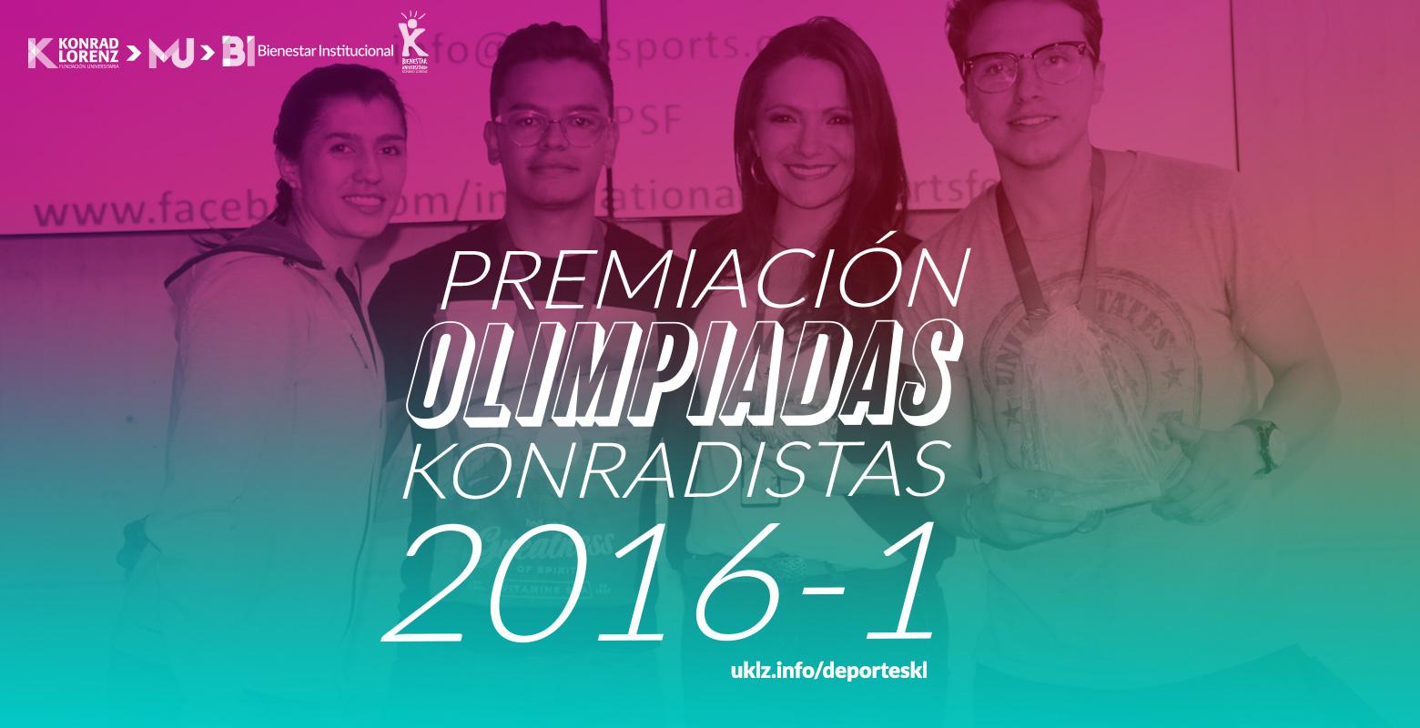 Premiación Olimpiadas Konradistas 2016-1