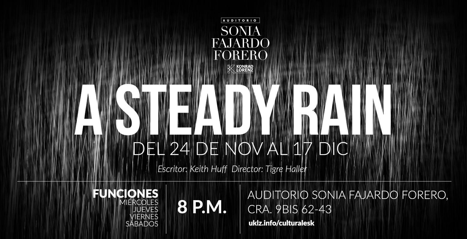 A Steady Rain-The BAT - Bogotá Anglo Theater
