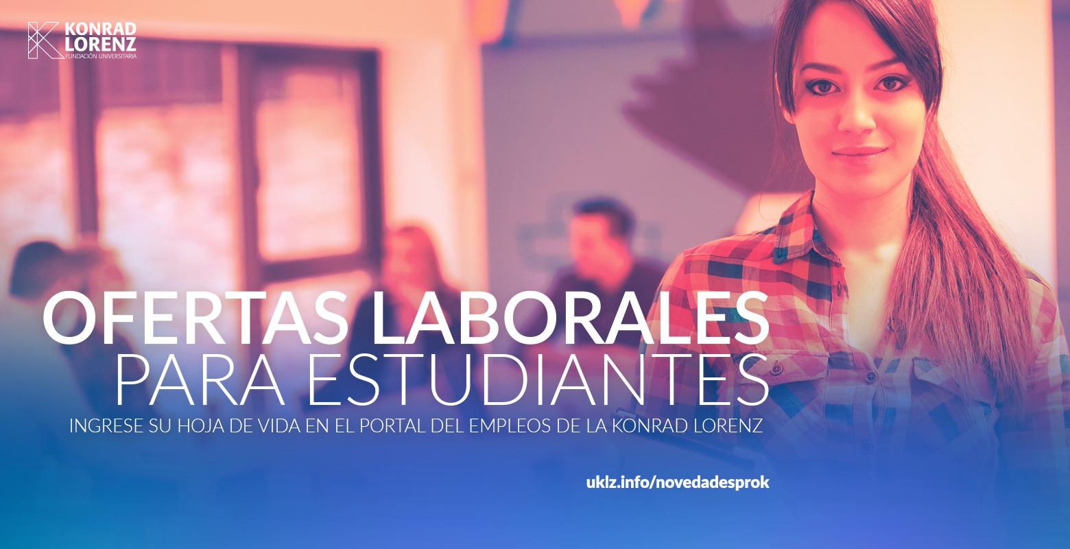 Ofertas laborales para estudiantes