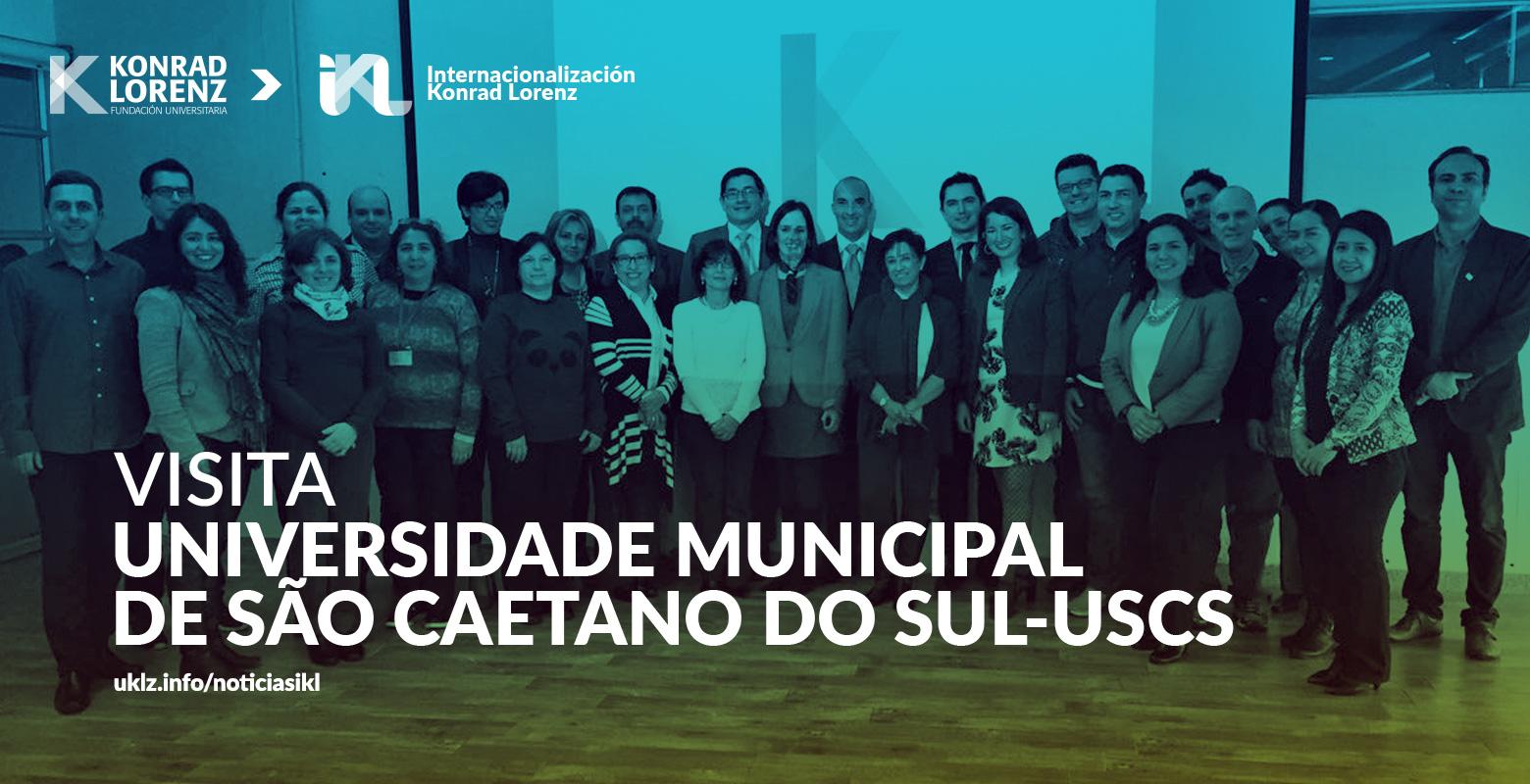 Visita Universidade Municipal de São Caetano do Sul-USCS