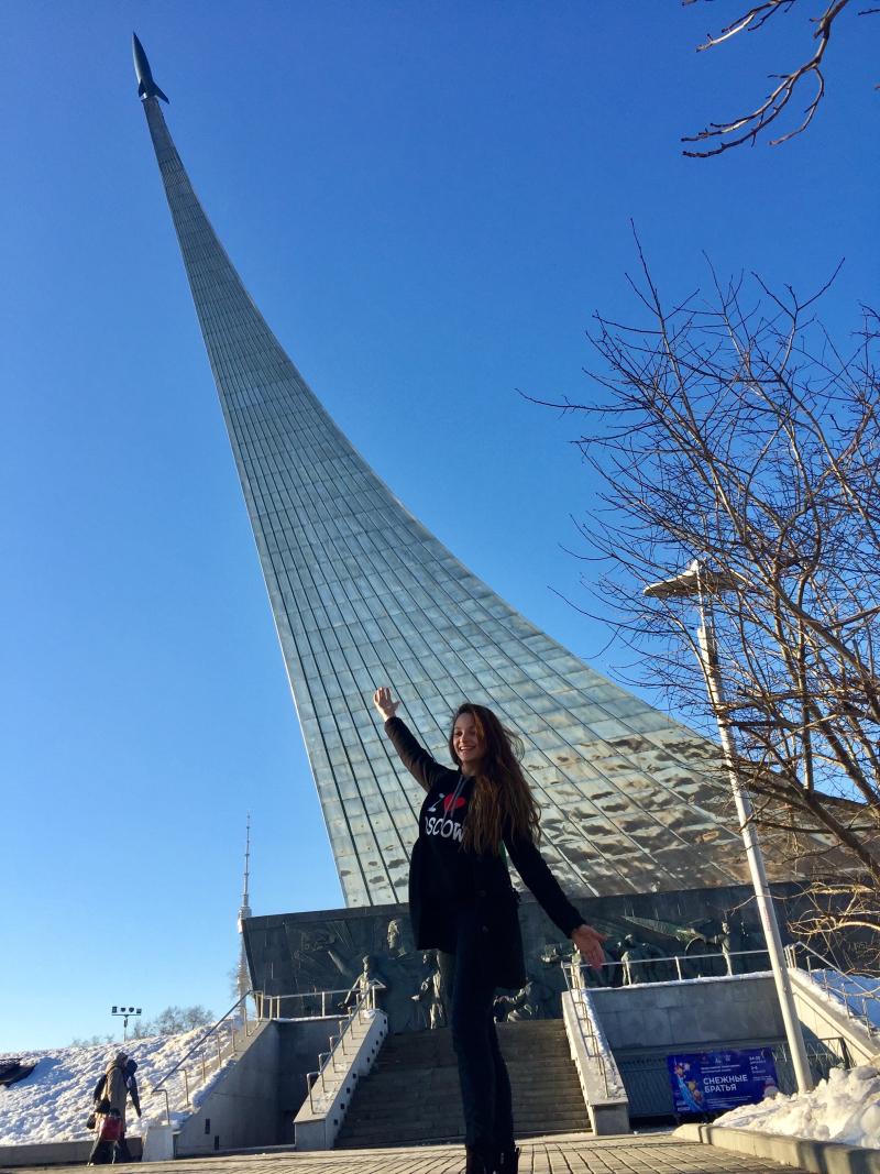 Monumento a los Conquistadores del Espacio 1