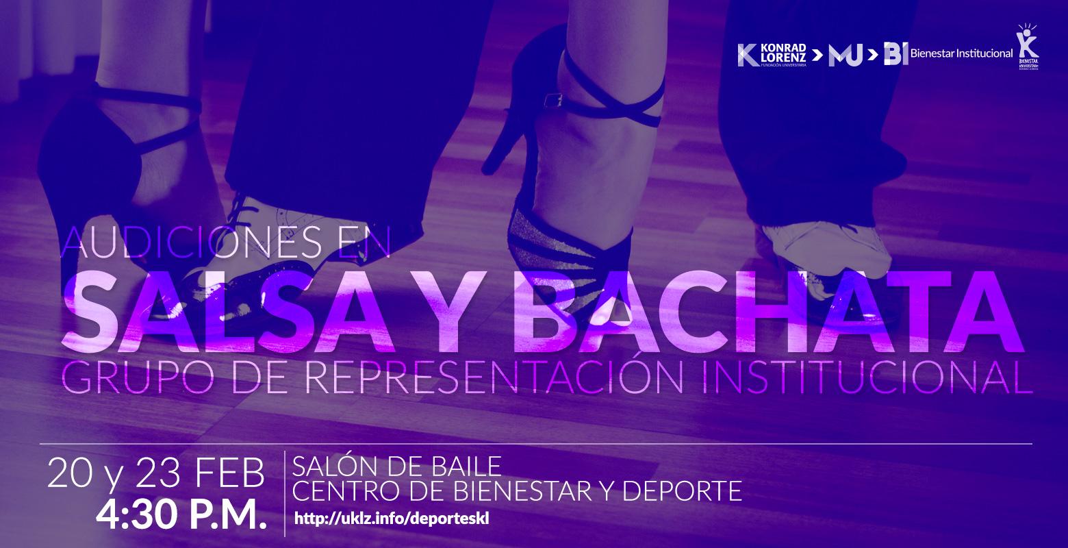 Audiciones en Salsa y Bachata