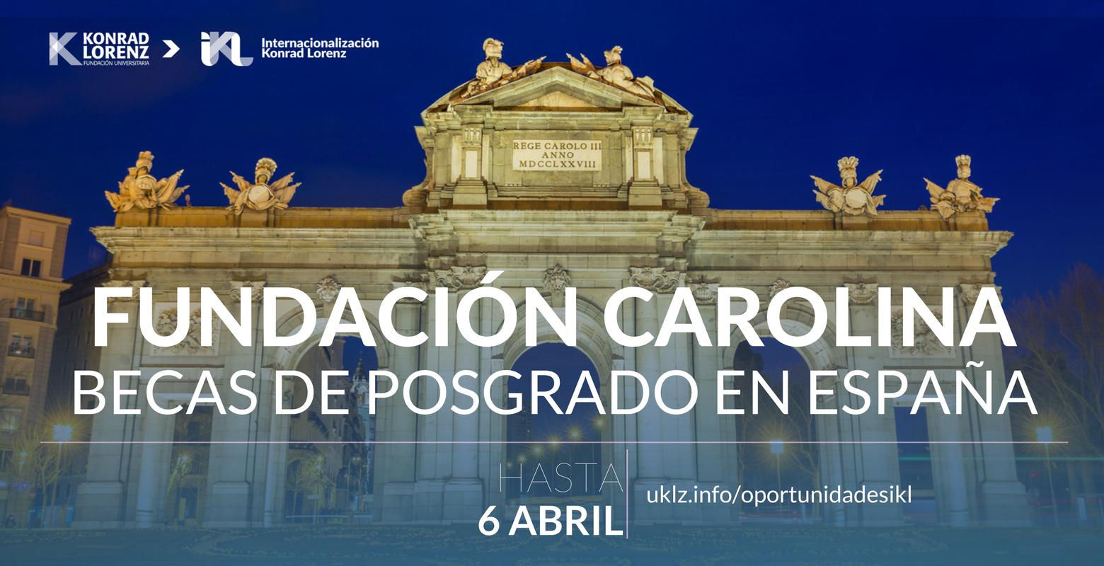 Becas de posgrados para estudiar en España