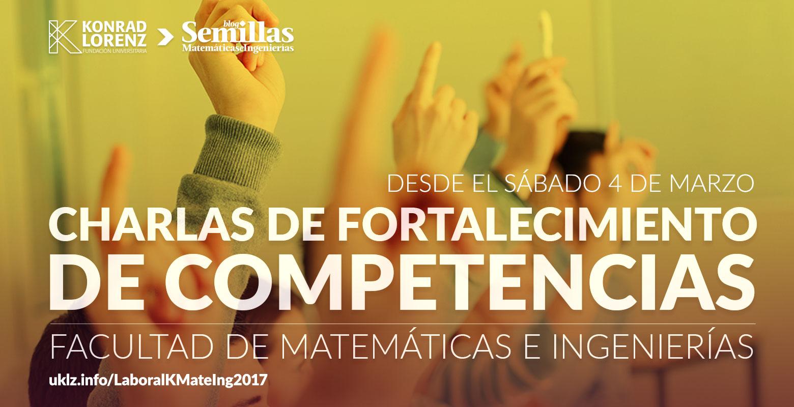 Charlas de Fortalecimiento de Competencias 2017