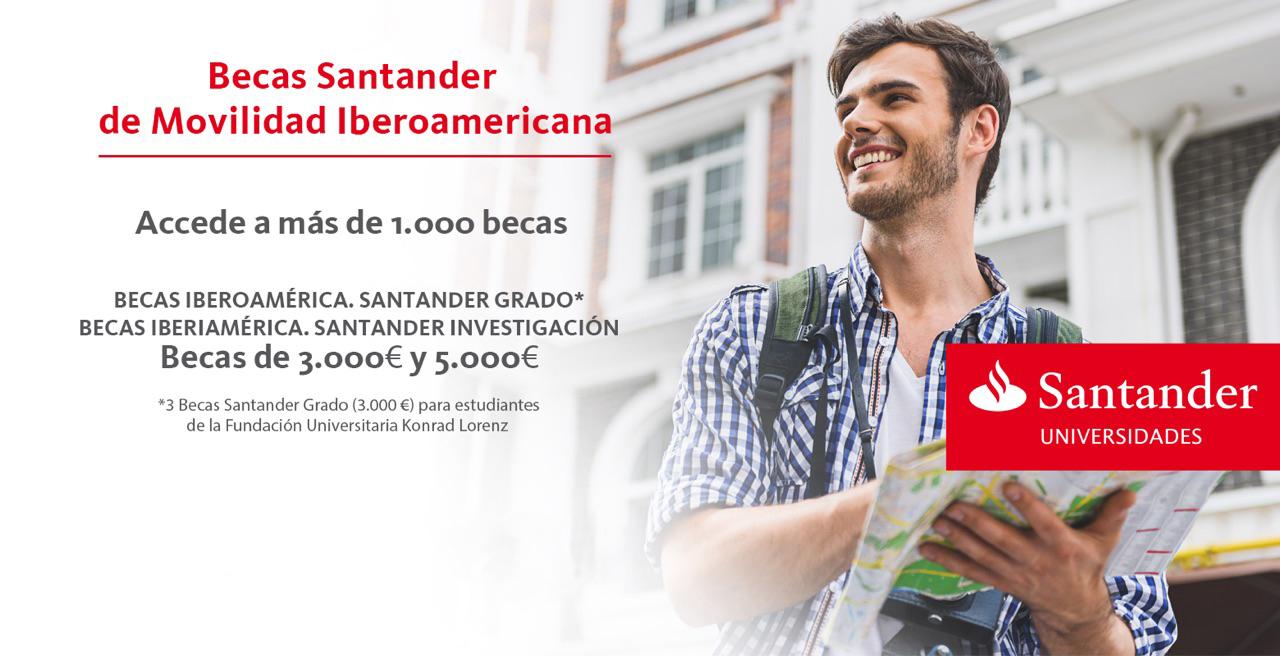 Becas Iberoamérica. Santander Grado 2017