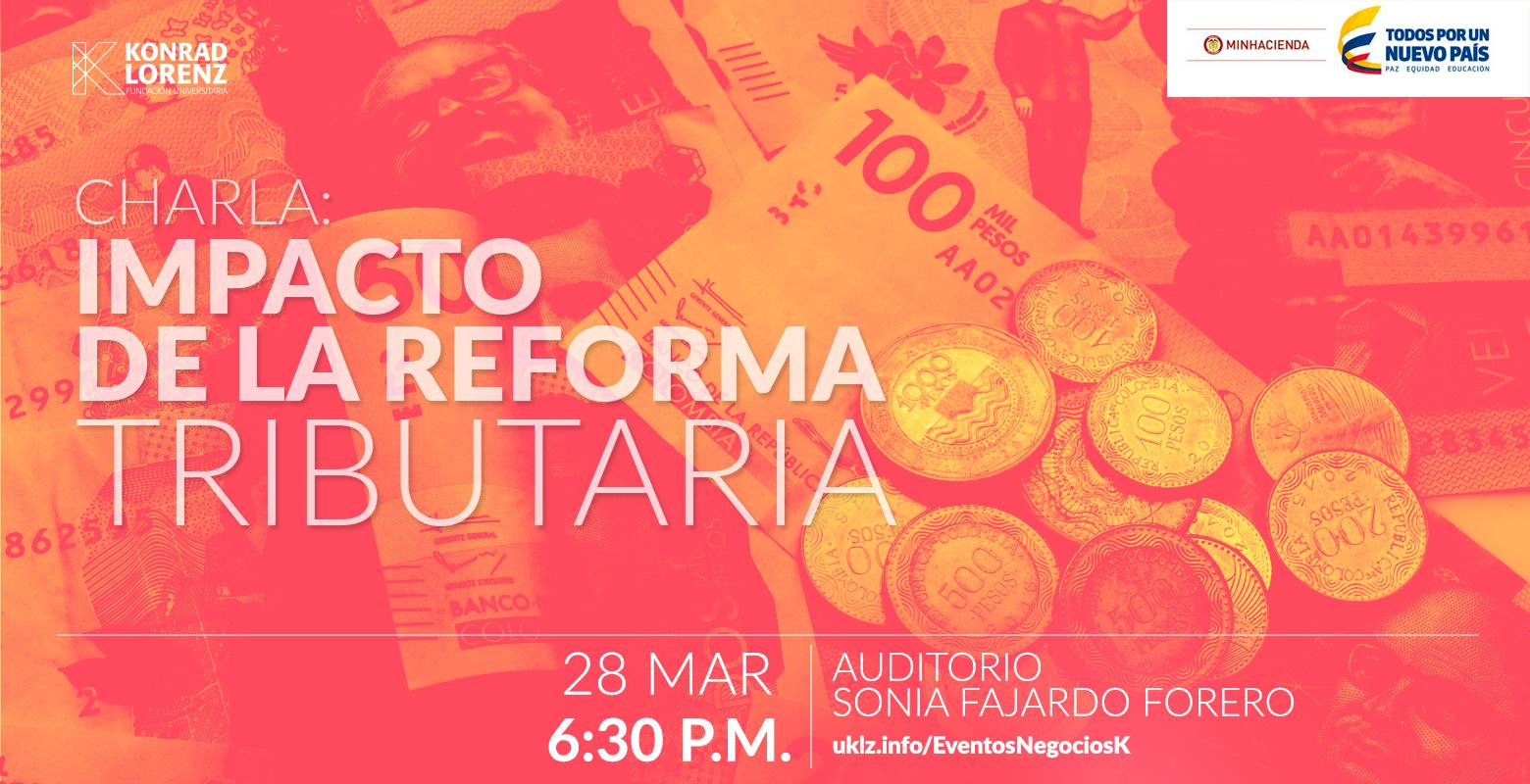 Charla: Impacto de la reforma tributaria en Colombia