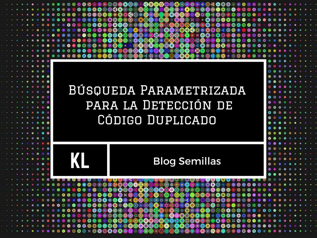 Búsqueda Parametrizada  para la Detección de Código Duplicado