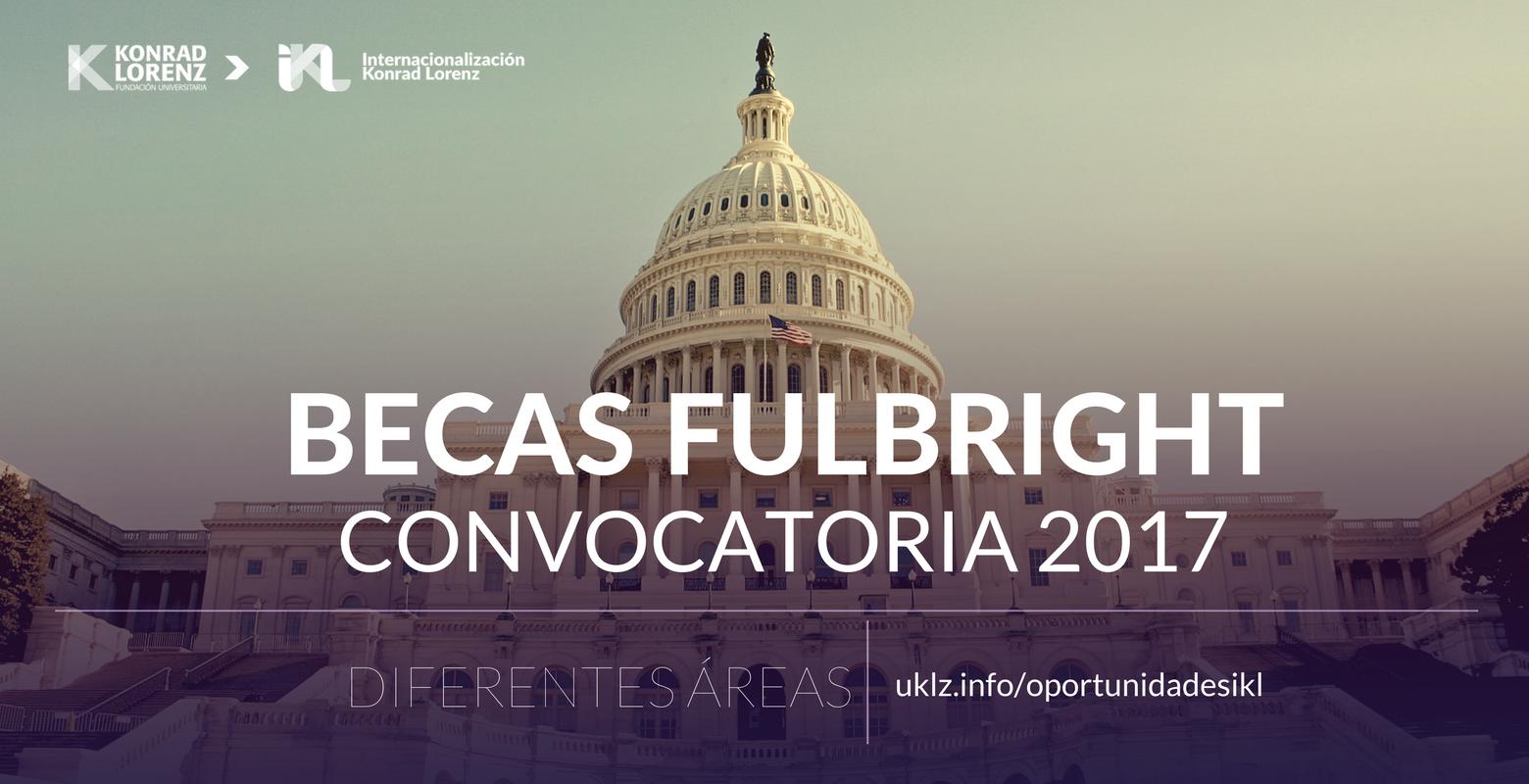 Convocatoria Fulbright 2017