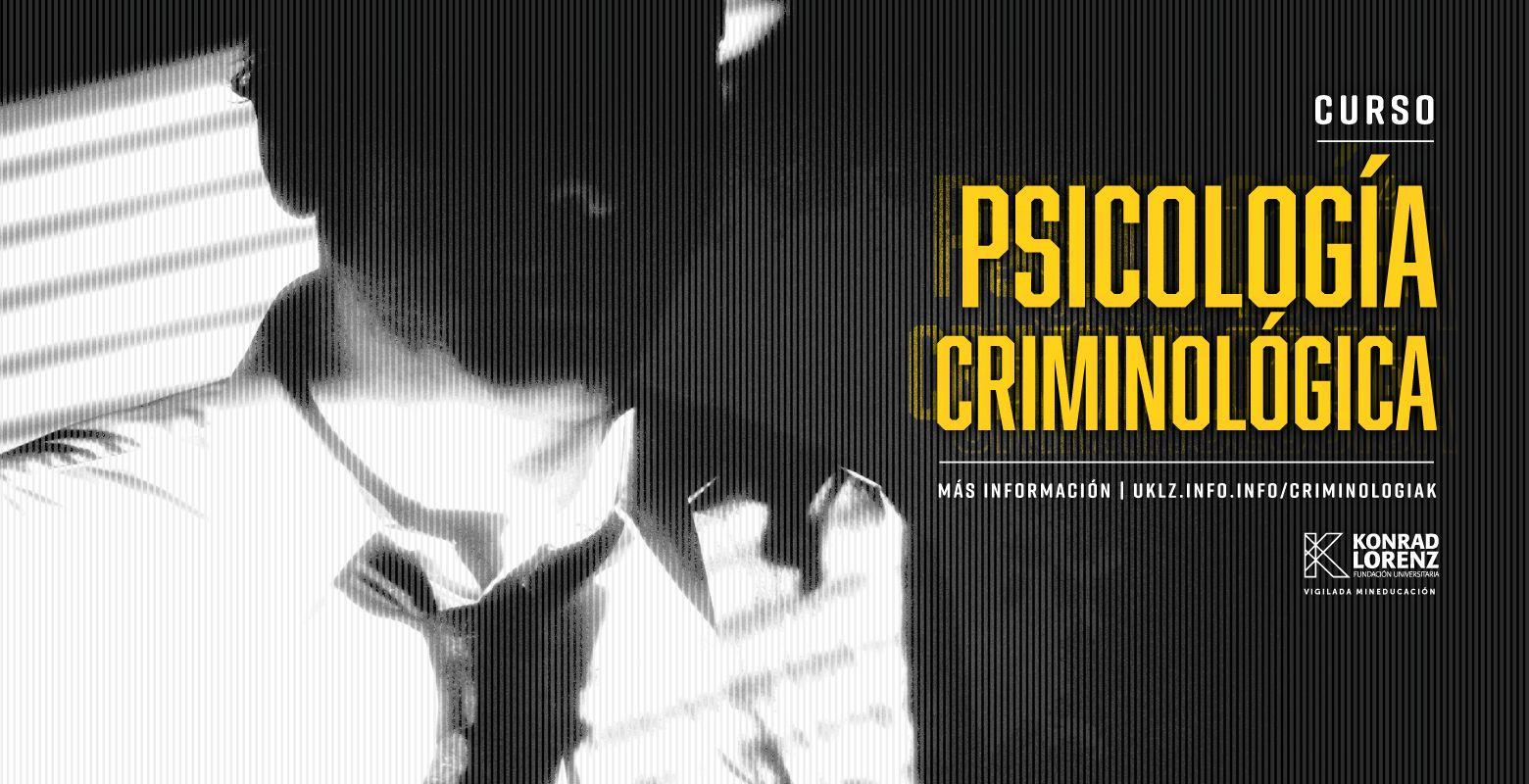 Curso en Psicología Criminológica