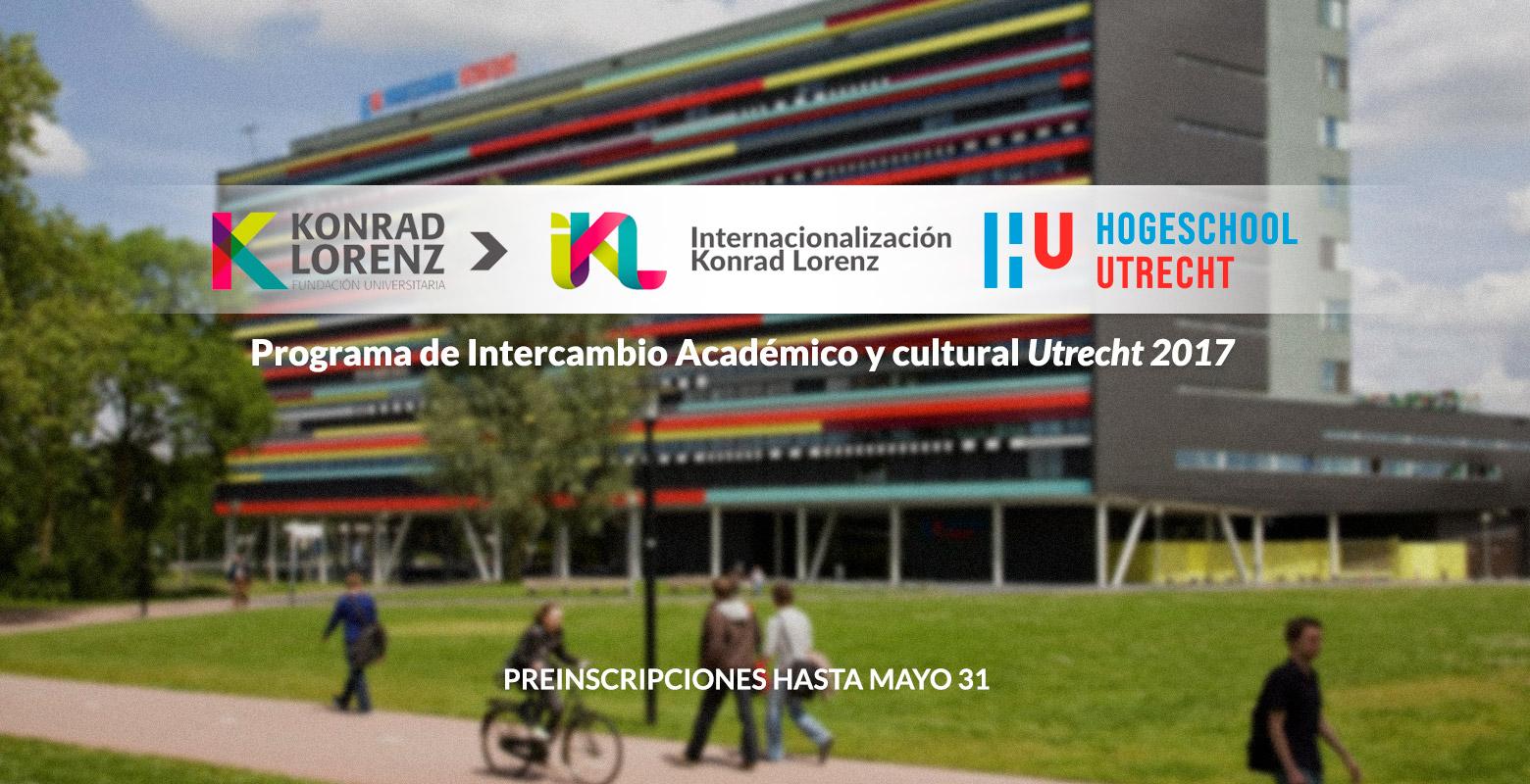Programa de Intercambio Académico y Cultural Utrecht 2017