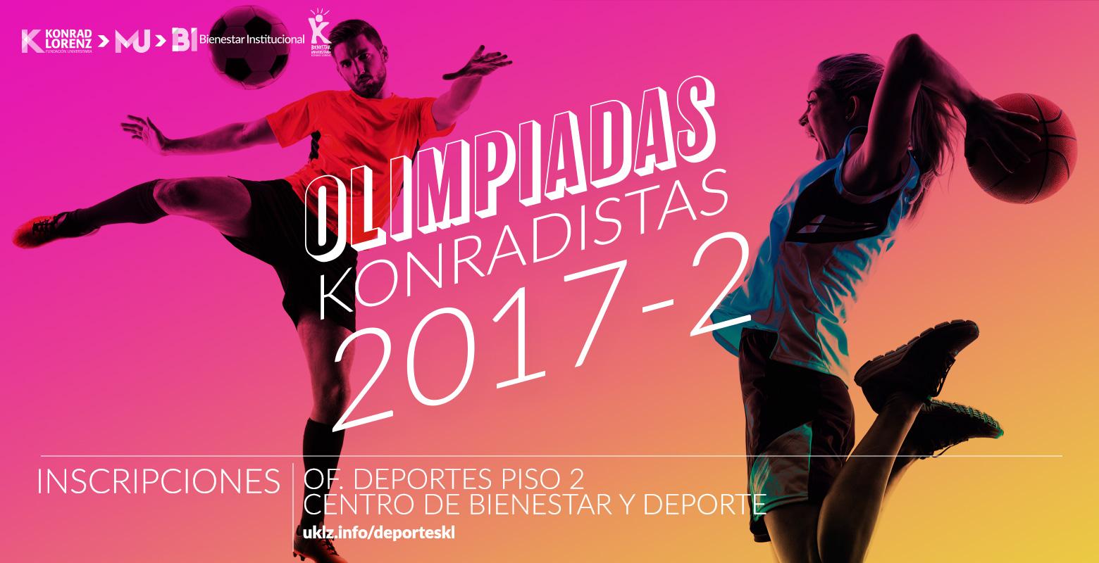 Olimpiadas Konradistas 2017-2