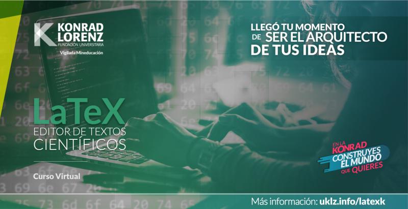 Curso de LaTeX, editor de textos científicos