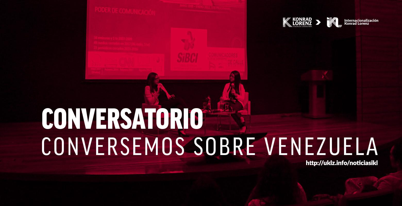 Así fue el Conversatorio: Conversemos sobre Venezuela