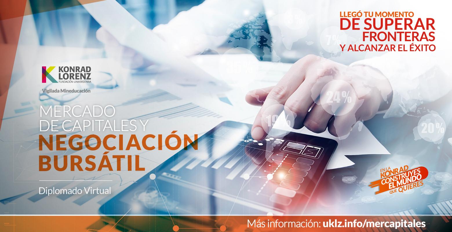 Diplomado Virtual en Mercado de Capitales y Negociación Bursátil