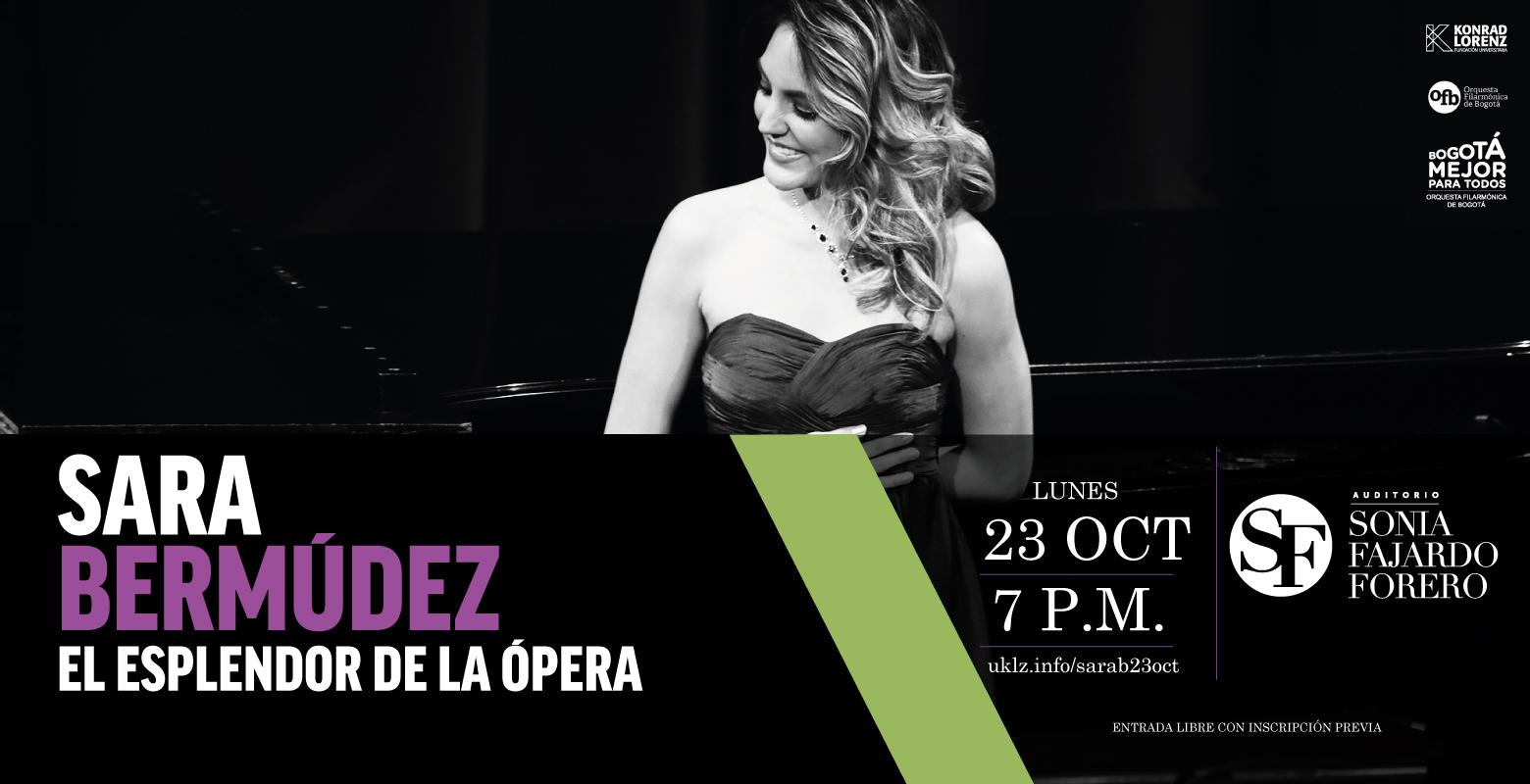 Sara Bermúdez, ópera en el SFF