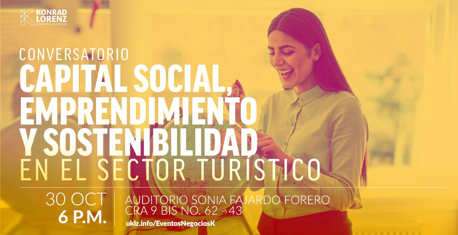 Conversatorio: Capital Social, Emprendimiento y Sostenibilidad en el Sector Turístico