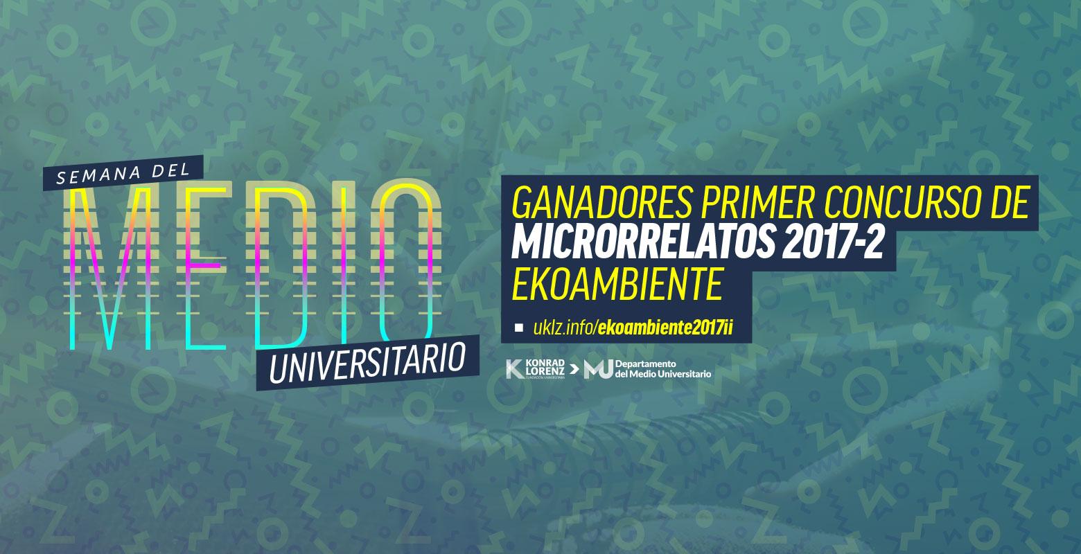 Primer Concurso de Microrrelatos Ambientales
