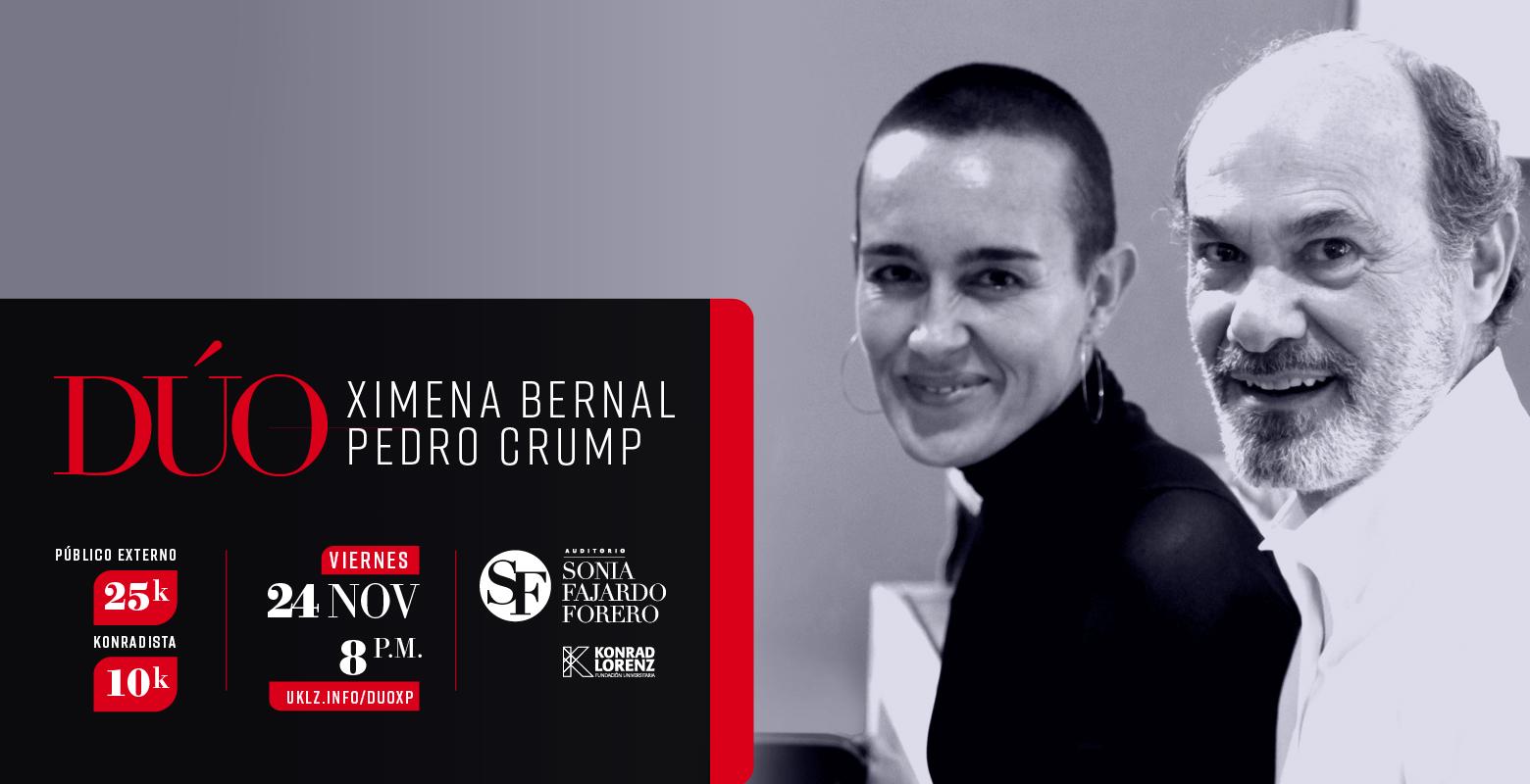DÚO: Ximena Bernal y Pedro Crump