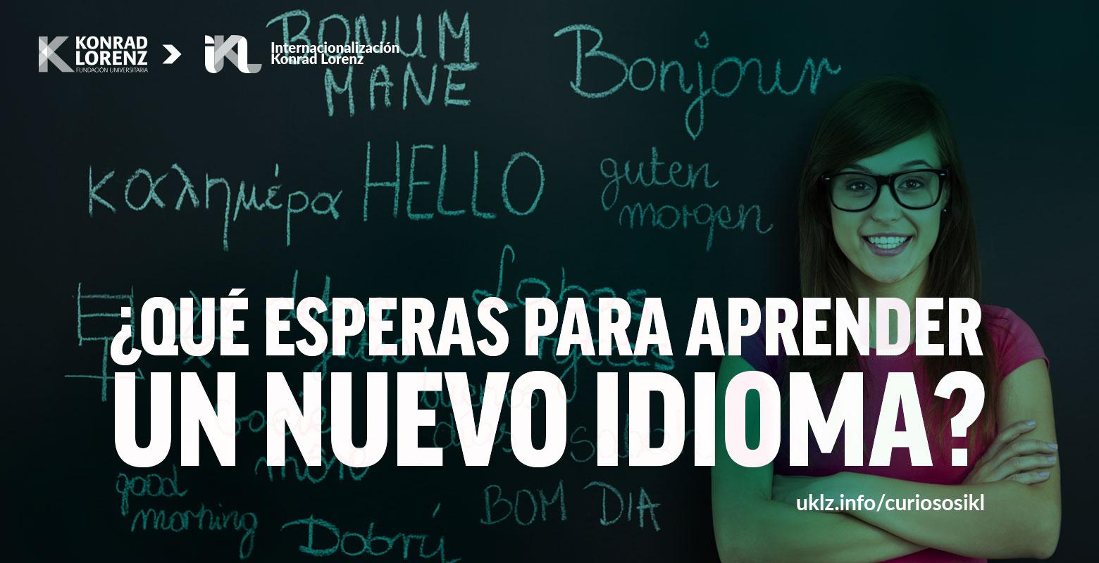 ¿Qué esperas para aprender un nuevo idioma?