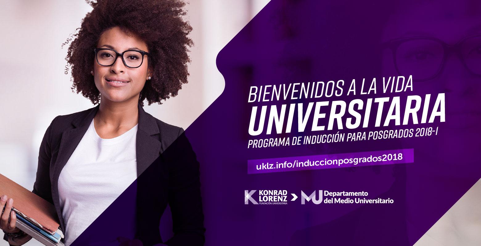 Konradízate: Inducción Posgrados