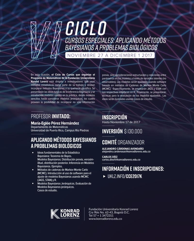 Afiche CCE2017