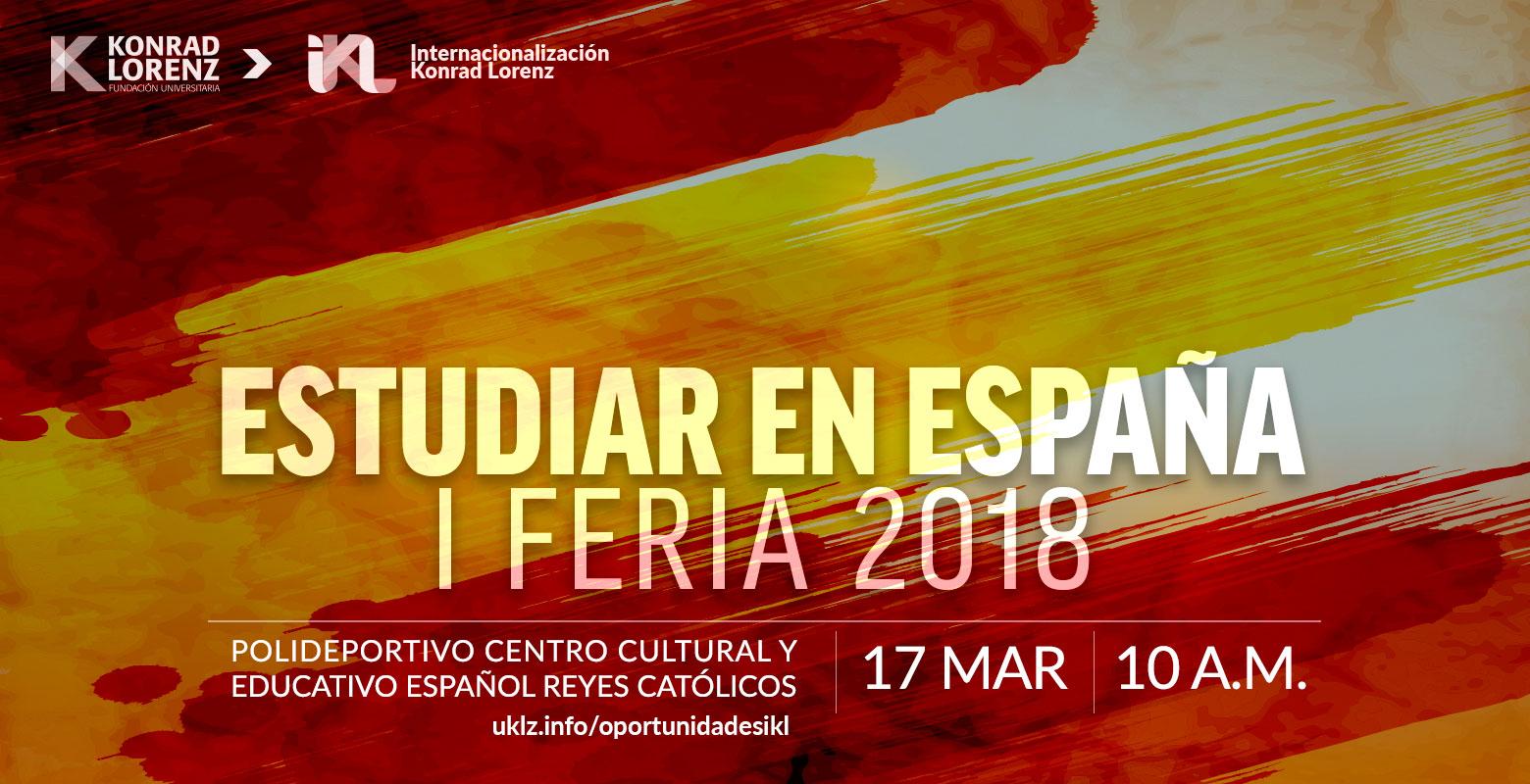 I Feria Estudiar en España 2018