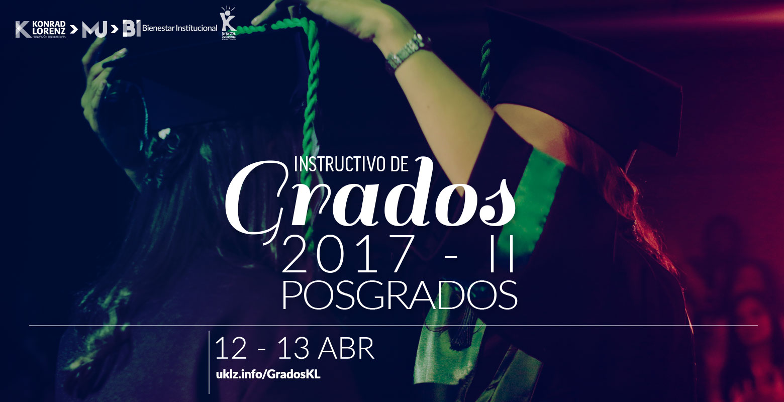 Instructivo de Grados 2017-2 Posgrados