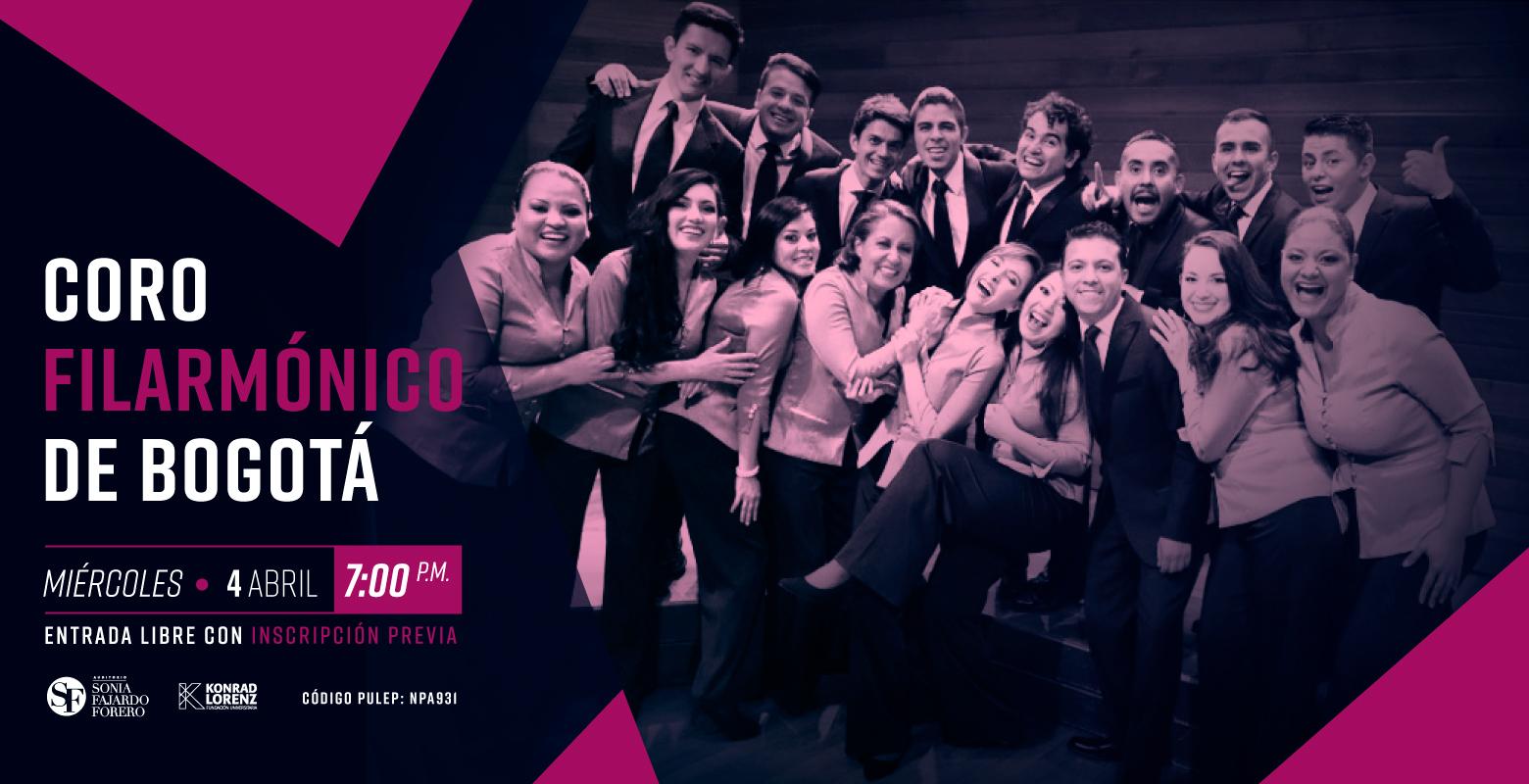 Concierto: Coro filarmónico de Bogotá