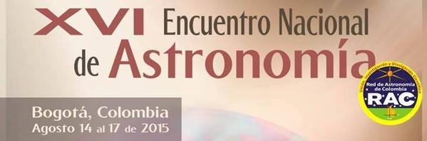 XVI Encuentro Nacional de Astronomía