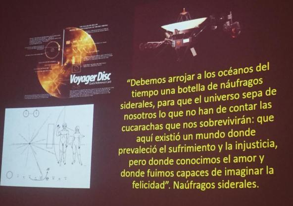 García Márquez Astronomía Naúfragos Siderales