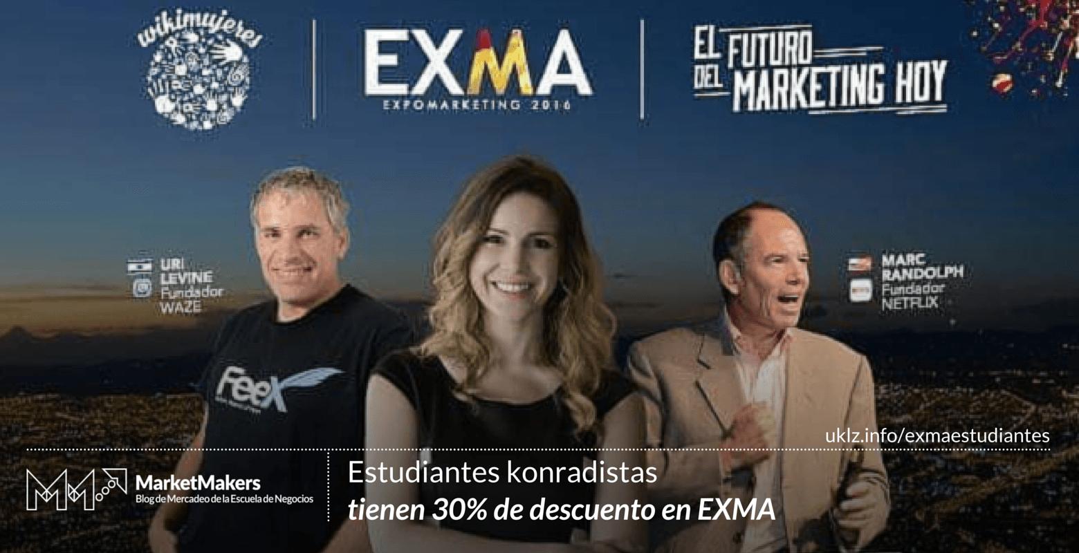 Estudiantes tendrán descuento en EXMA
