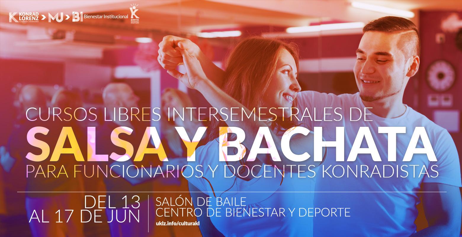 Cursos libres intersemestrales de Salsa y Bachata