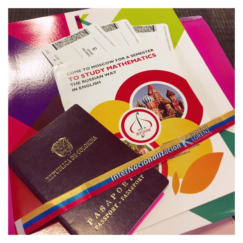 Pasaporte Intercambio Colombia Rusia Math in Moscow