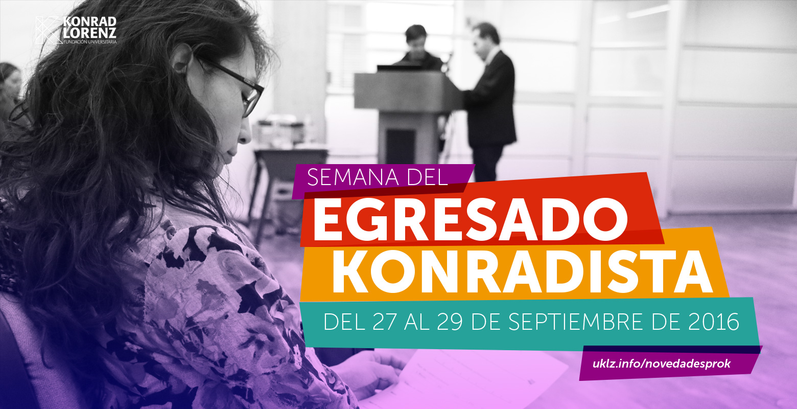 Semana del Egresado Konradista