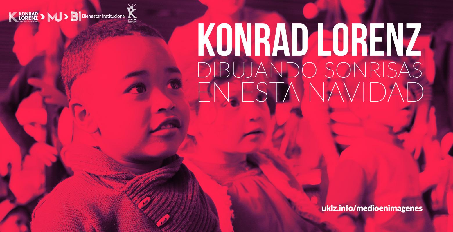 Konrad Lorenz dibujando sonrisas en esta navidad