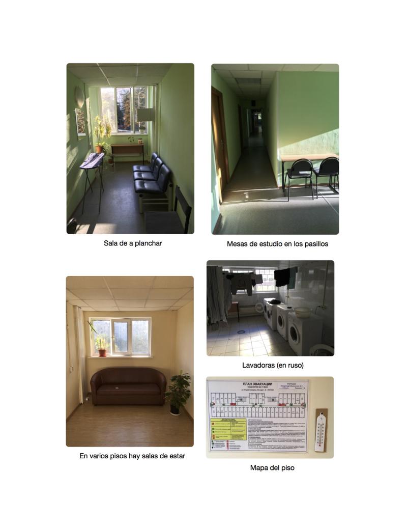 Dormitorios HSE 6