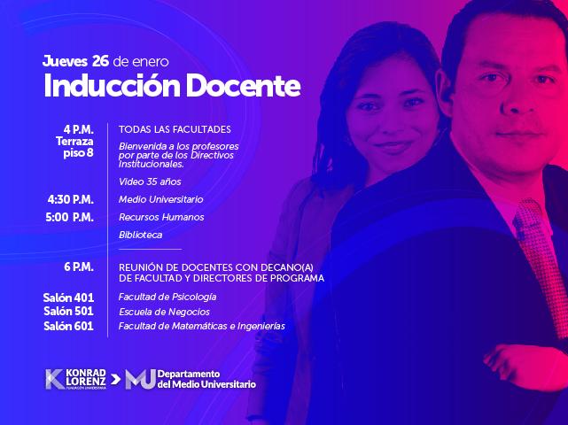 Inducción docente 2017-1