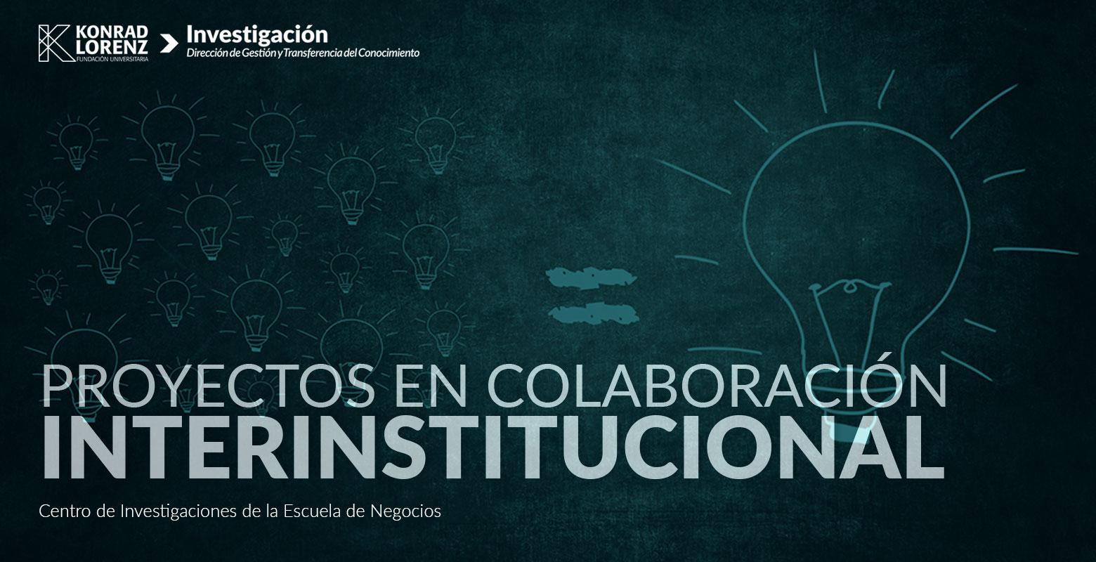 Proyectos en colaboración interinstitucional