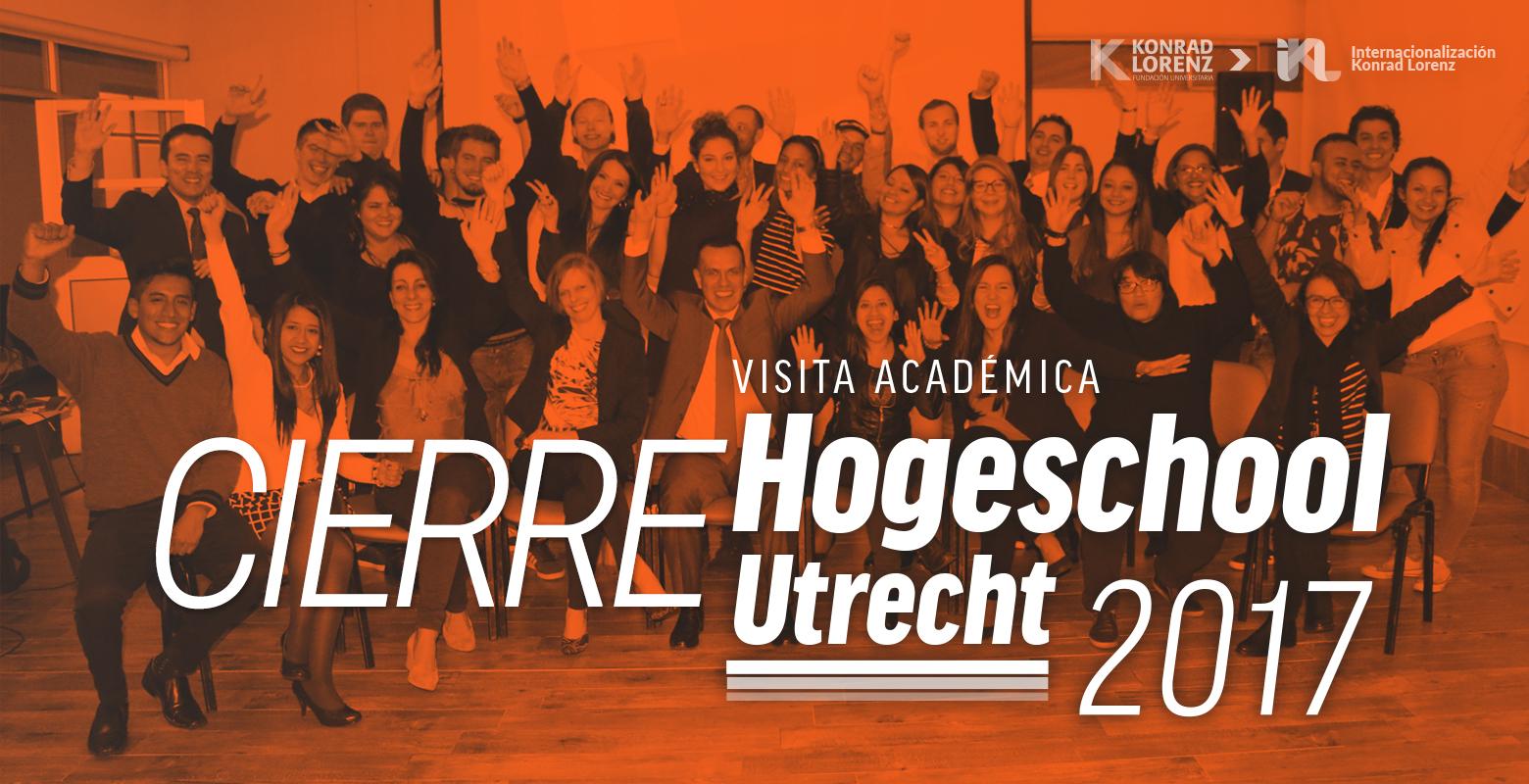 Cierre visita académica Hogeschool Utrecht 2017