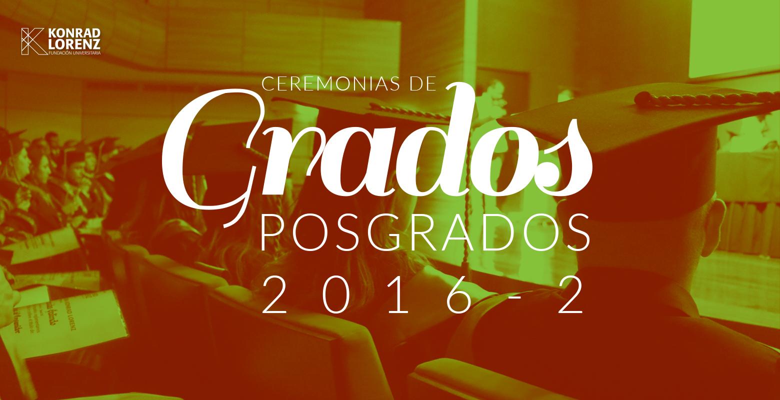 Grados Posgrados 2016-2