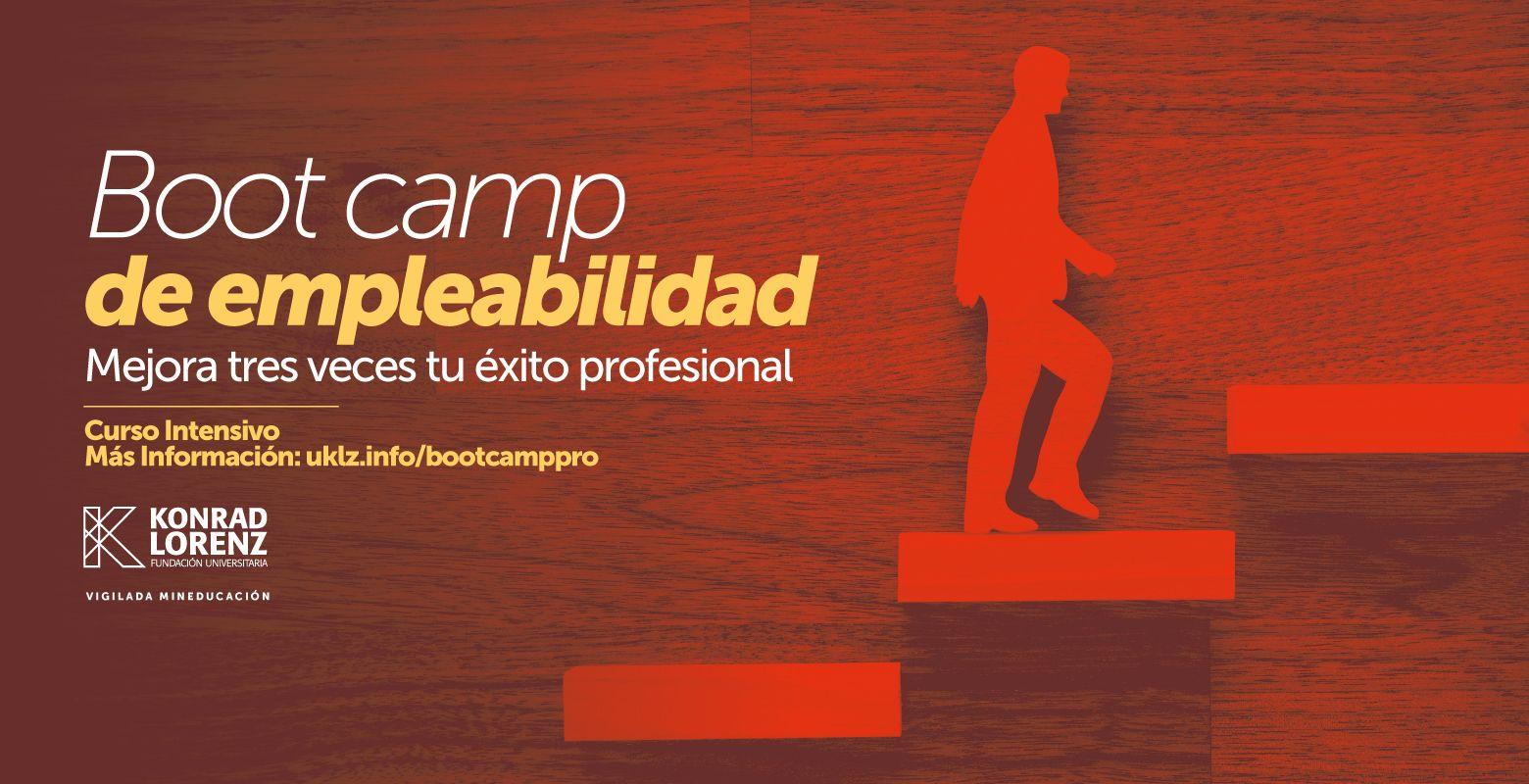Curso Boot Camp de Empleabilidad. Mejora 3 veces tu éxito profesional.