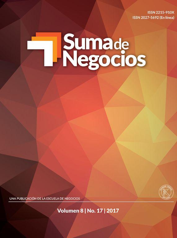 Suma de Negocios, Vol. 8, Nº 17