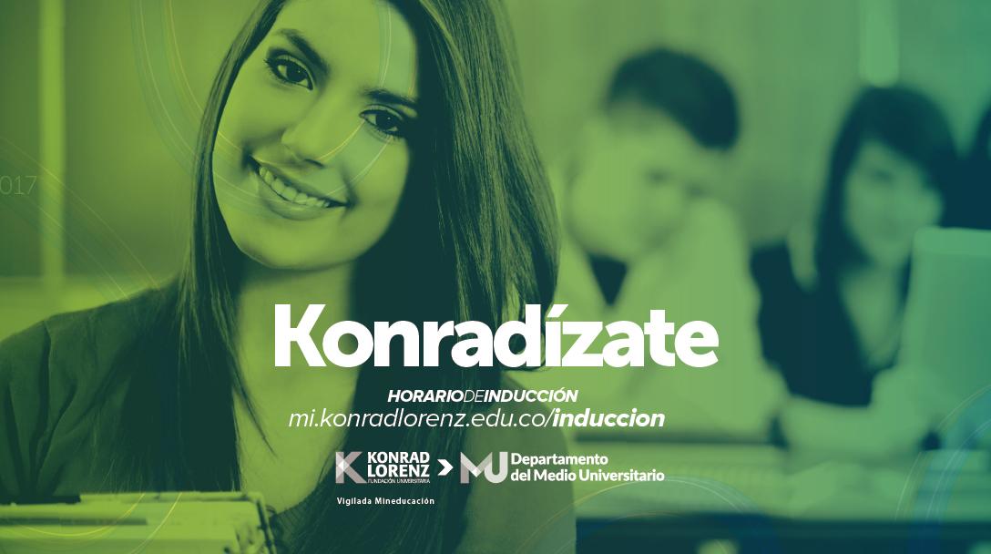 Konradízate: Semana de la vida universitaria