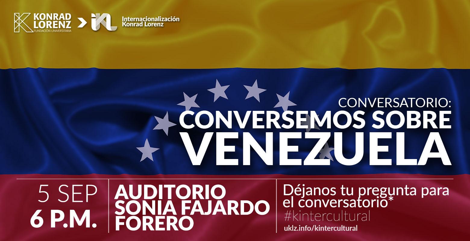 Conversatorio: conversemos sobre Venezuela